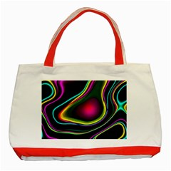 Vibrant Fantasy 5 Classic Tote Bag (red) by MoreColorsinLife