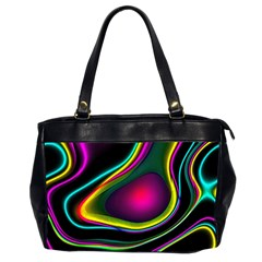 Vibrant Fantasy 5 Office Handbags (2 Sides)  by MoreColorsinLife
