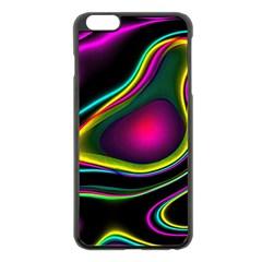 Vibrant Fantasy 5 Apple Iphone 6 Plus/6s Plus Black Enamel Case by MoreColorsinLife