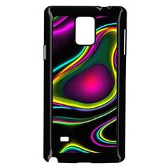 Vibrant Fantasy 5 Samsung Galaxy Note 4 Case (black) by MoreColorsinLife