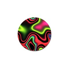 Vibrant Fantasy 1b Golf Ball Marker (10 Pack) by MoreColorsinLife
