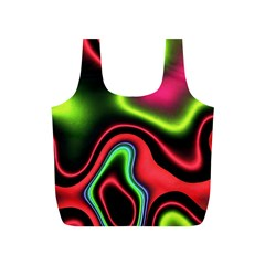 Vibrant Fantasy 1b Full Print Recycle Bags (s)  by MoreColorsinLife