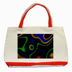Vibrant Fantasy 6 Classic Tote Bag (red) by MoreColorsinLife