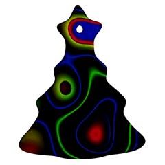 Vibrant Fantasy 6 Ornament (christmas Tree)  by MoreColorsinLife