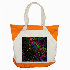 Vibrant Fantasy 6 Accent Tote Bag by MoreColorsinLife