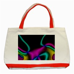 Vibrant Fantasy 3 Classic Tote Bag (red) by MoreColorsinLife