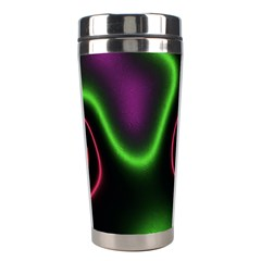 Vibrant Fantasy 2 Stainless Steel Travel Tumblers by MoreColorsinLife