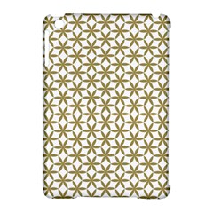 Flower Of Life Pattern Cold White Apple Ipad Mini Hardshell Case (compatible With Smart Cover) by Cveti