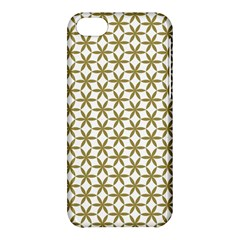 Flower Of Life Pattern Cold White Apple Iphone 5c Hardshell Case by Cveti