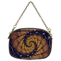 An Emperor Scorpion s 1001 Fractal Spiral Stingers Chain Purses (one Side)  by beautifulfractals