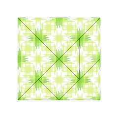 Intersecting Lines Pattern Acrylic Tangram Puzzle (4  X 4 ) by dflcprints