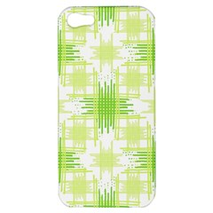 Intersecting Lines Pattern Apple Iphone 5 Hardshell Case by dflcprints