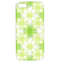 Intersecting Lines Pattern Apple Iphone 5 Hardshell Case With Stand by dflcprints
