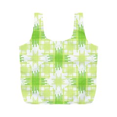 Intersecting Lines Pattern Full Print Recycle Bags (m)  by dflcprints