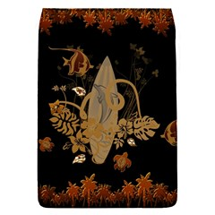 Hawaiian, Tropical Design With Surfboard Flap Covers (s)  by FantasyWorld7