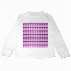 Pattern Kids Long Sleeve T Shirts by gasi