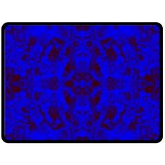 Pattern Fleece Blanket (large)  by gasi