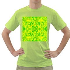 Pattern Green T Shirt by gasi