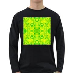 Pattern Long Sleeve Dark T Shirts by gasi