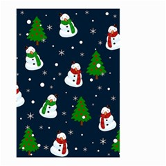 Snowman Pattern Small Garden Flag (two Sides) by Valentinaart