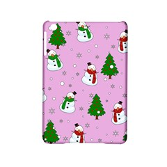 Snowman Pattern Ipad Mini 2 Hardshell Cases by Valentinaart