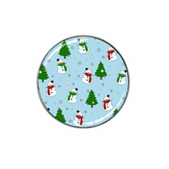 Snowman Pattern Hat Clip Ball Marker (10 Pack) by Valentinaart