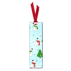 Snowman Pattern Small Book Marks by Valentinaart