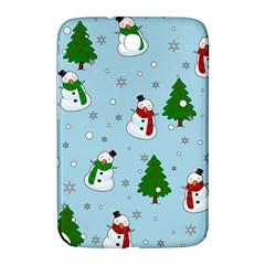 Snowman Pattern Samsung Galaxy Note 8 0 N5100 Hardshell Case  by Valentinaart