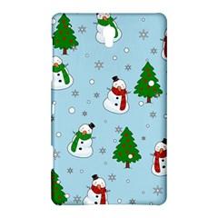 Snowman Pattern Samsung Galaxy Tab S (8 4 ) Hardshell Case  by Valentinaart