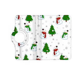 Snowman Pattern Kindle Fire Hd (2013) Flip 360 Case by Valentinaart
