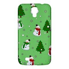 Snowman Pattern Samsung Galaxy Mega 6 3  I9200 Hardshell Case by Valentinaart