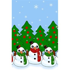 Kawaii Snowman 5 5  X 8 5  Notebooks by Valentinaart