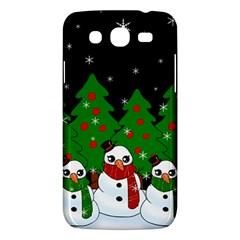 Kawaii Snowman Samsung Galaxy Mega 5 8 I9152 Hardshell Case  by Valentinaart