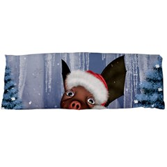 Christmas, Cute Little Piglet With Christmas Hat Body Pillow Case (dakimakura) by FantasyWorld7