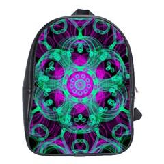 Pattern School Bag (xl) by gasi