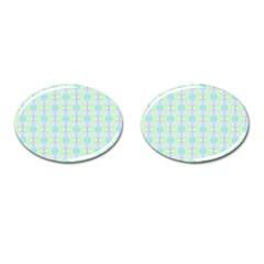 Pattern Cufflinks (oval) by gasi