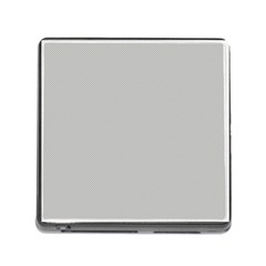 Grey And White Simulated Carbon Fiber Memory Card Reader (square)