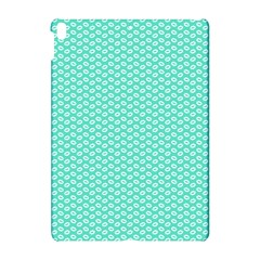 Tiffany Aqua Blue With White Lipstick Kisses Apple Ipad Pro 10 5   Hardshell Case by PodArtist