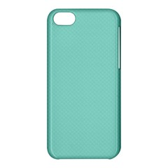 Tiffany Aqua Blue Puffy Quilted Pattern Apple Iphone 5c Hardshell Case by PodArtist