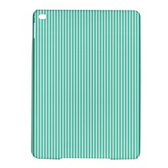 Classy Tiffany Aqua Blue Sailor Stripes Ipad Air 2 Hardshell Cases by PodArtist