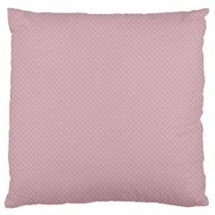 Baby Pink Stitched And Quilted Pattern Standard Flano Cushion Case (one Side) by PodArtist