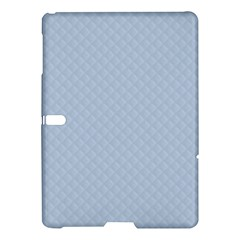 Powder Blue Stitched And Quilted Pattern Samsung Galaxy Tab S (10 5 ) Hardshell Case  by PodArtist