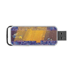 Up Down City Portable Usb Flash (two Sides) by berwies