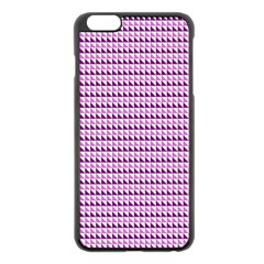 Pattern Apple Iphone 6 Plus/6s Plus Black Enamel Case by gasi