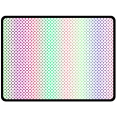 Pattern Double Sided Fleece Blanket (large)  by gasi