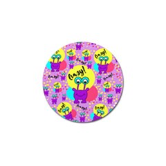 Crazy Golf Ball Marker (10 Pack) by gasi