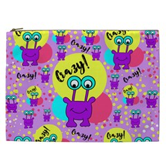 Crazy Cosmetic Bag (xxl)  by gasi