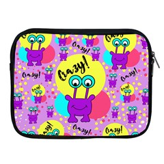 Crazy Apple Ipad 2/3/4 Zipper Cases by gasi