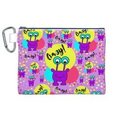 Crazy Canvas Cosmetic Bag (xl) by gasi