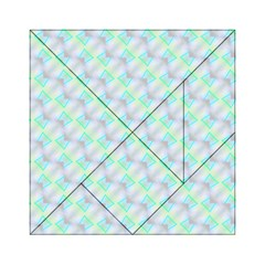 Pattern Acrylic Tangram Puzzle (6  X 6 ) by gasi